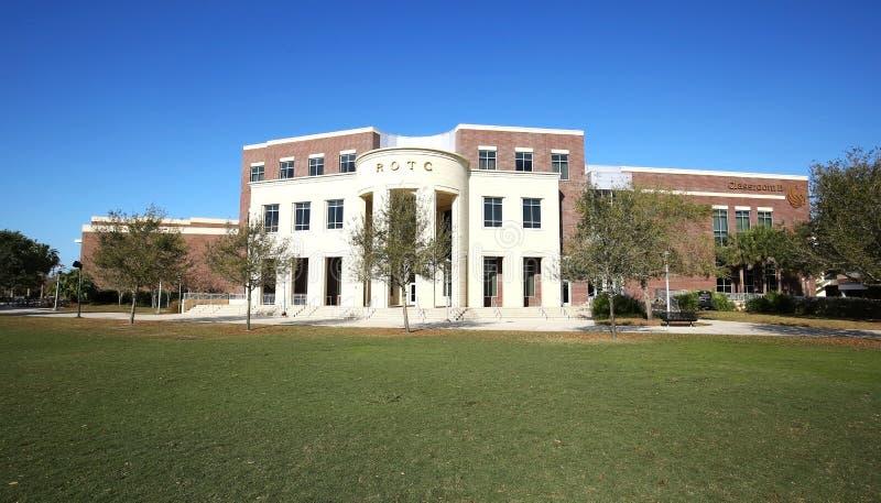Costruzione di ROTC all'università di Florida centrale fotografia stock libera da diritti