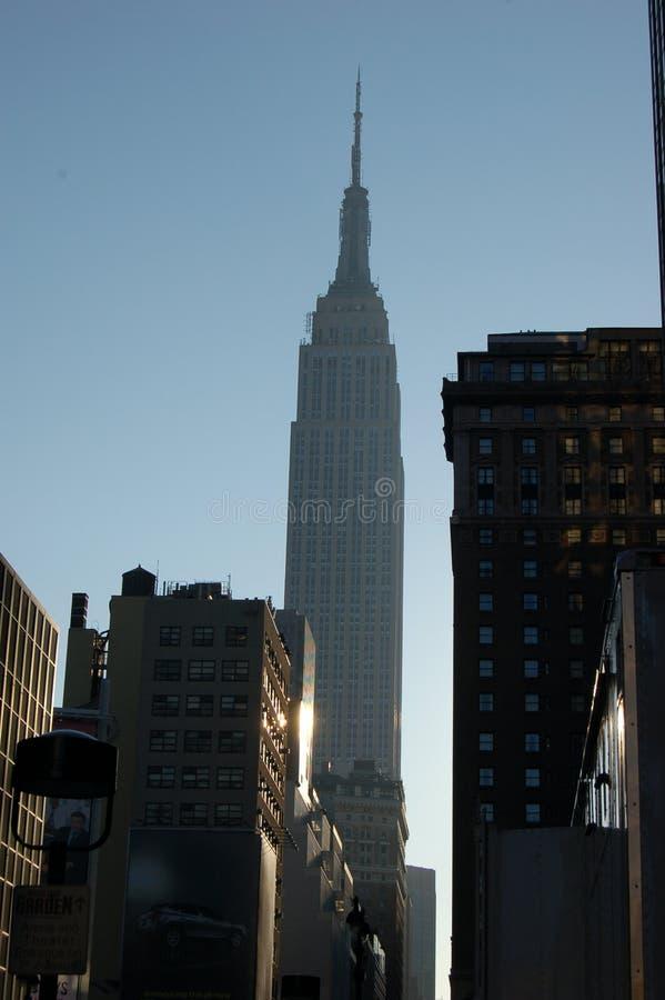 Costruzione di stati di impero, New York fotografia stock