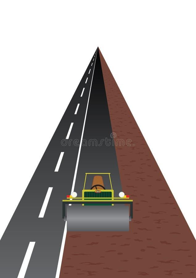 Costruzione di strade illustrazione vettoriale