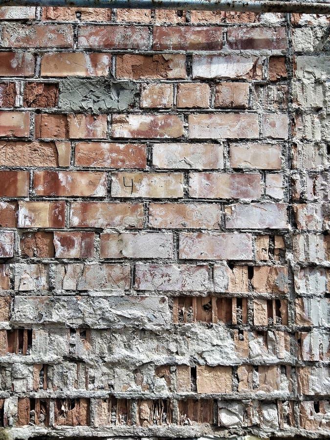 Costruzione di struttura a parete di mattoni fotografia stock libera da diritti