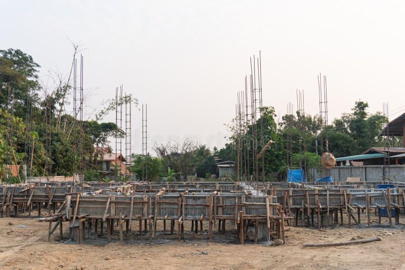 Costruzione Di Un Edificio In Costruzione fotografie stock libere da diritti