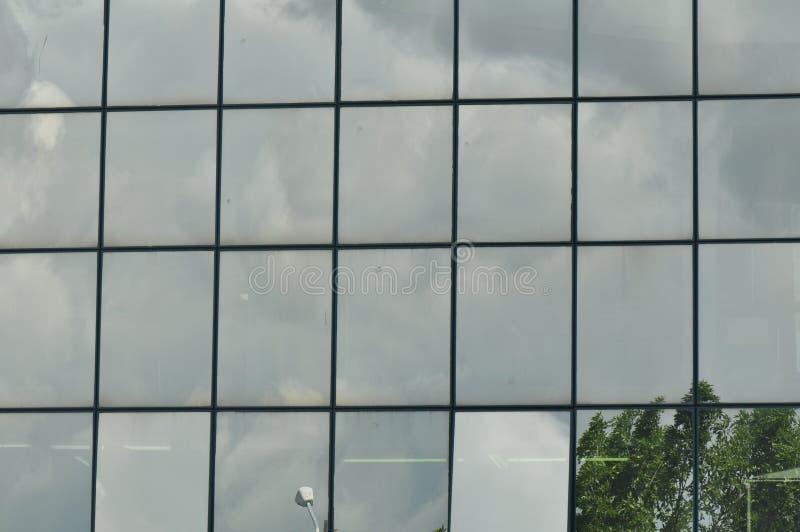 Costruzione di vetro moderna immagine stock