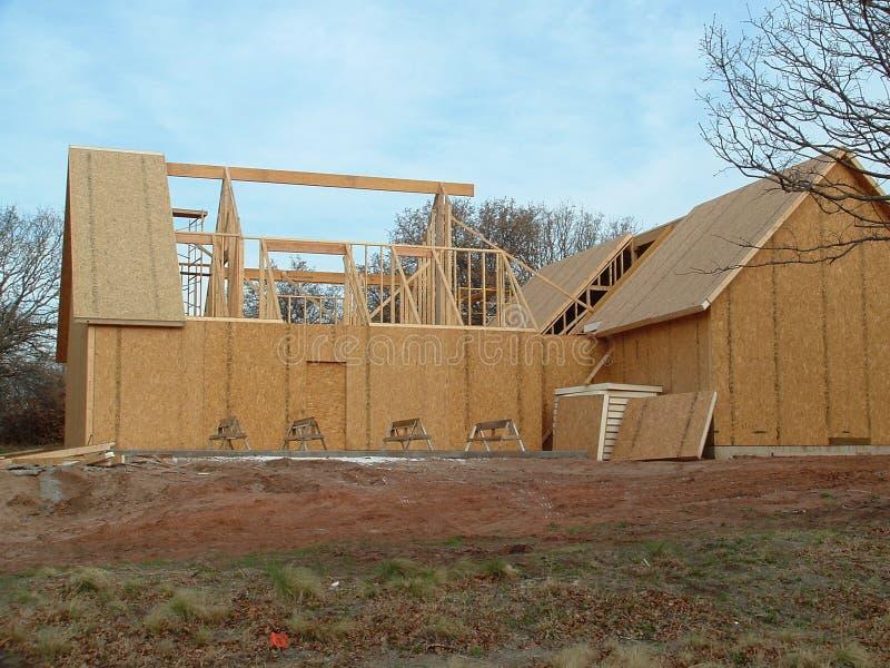 Costruzione domestica 2 fotografia stock immagine di casa for Costruzione domestica economica