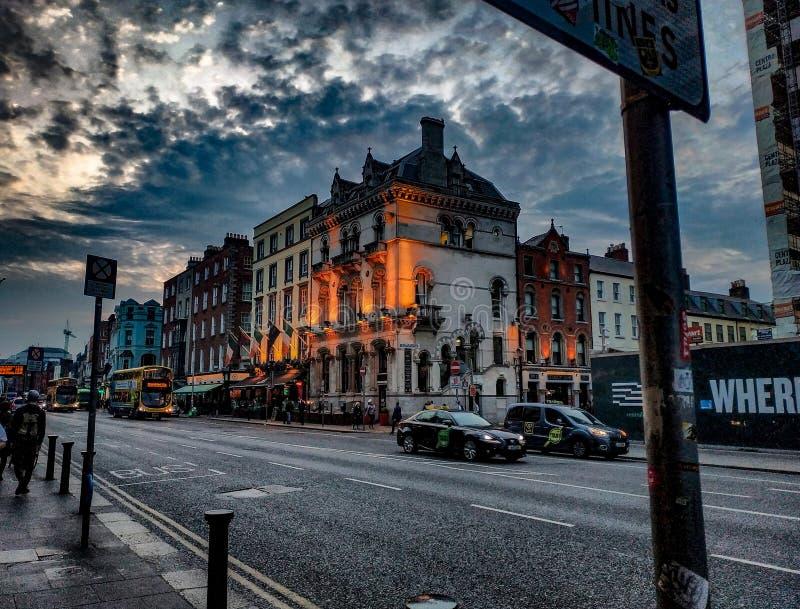 Costruzione, Dublino, ifrelans, Irlanda fotografie stock