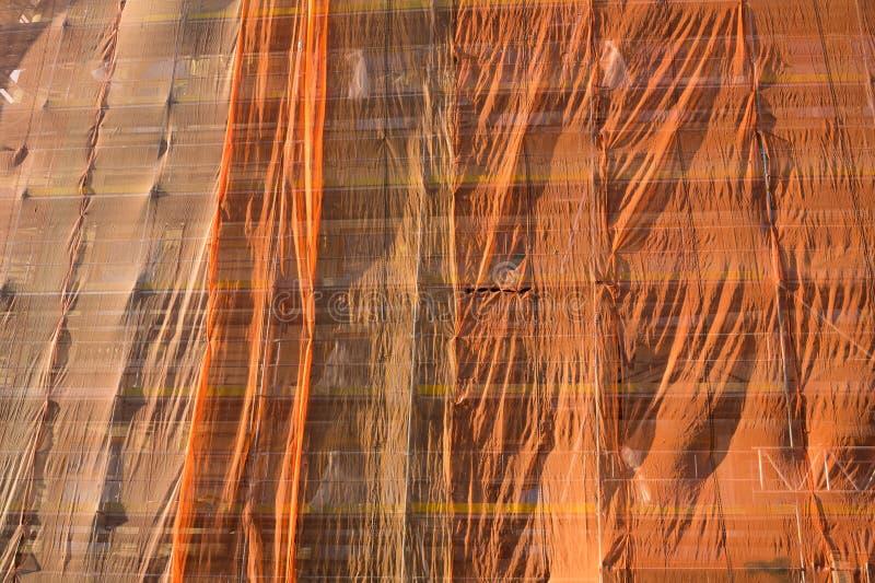 Costruzione e ricostruzione di buliding multi-storeyed fotografia stock
