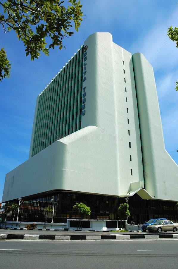 Costruzione iconica del ` s di Miri, grattacielo fotografia stock