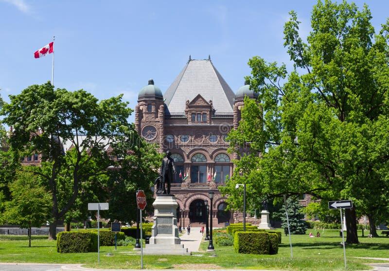 Costruzione legislativa di Ontario fotografie stock