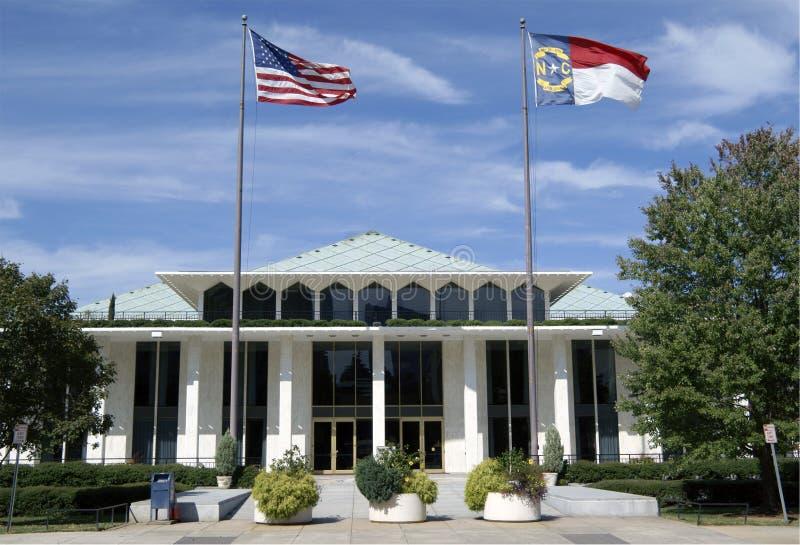 Costruzione legislativa, Raleigh, North Carolina. fotografie stock libere da diritti