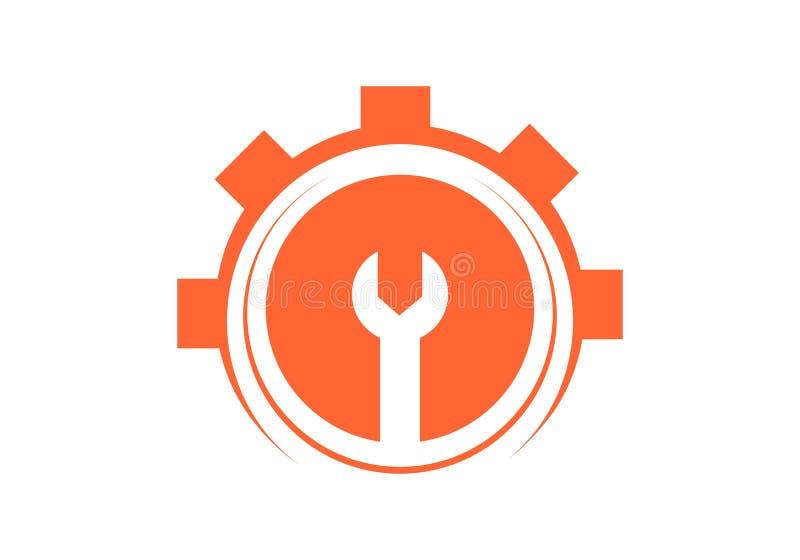 Costruzione, logo di industria royalty illustrazione gratis