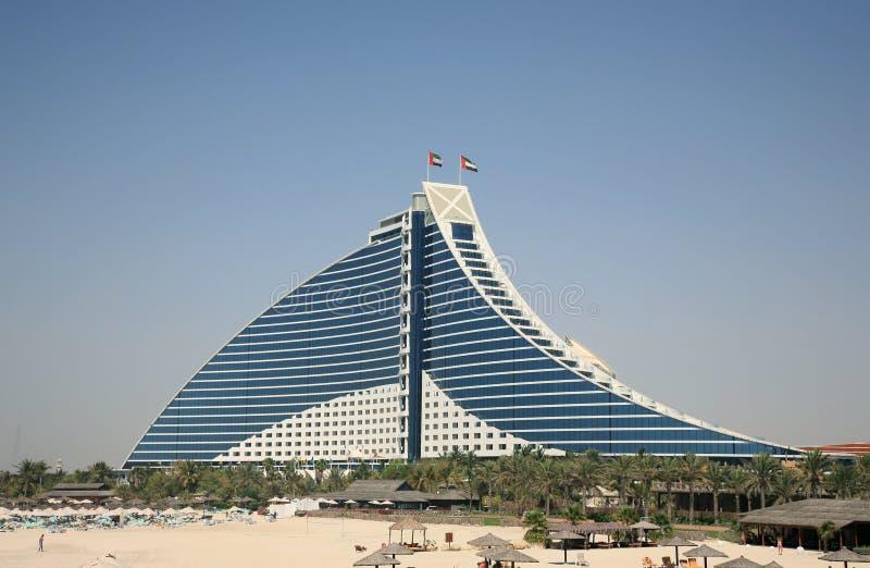 Costruzione moderna dell'hotel fotografie stock libere da diritti