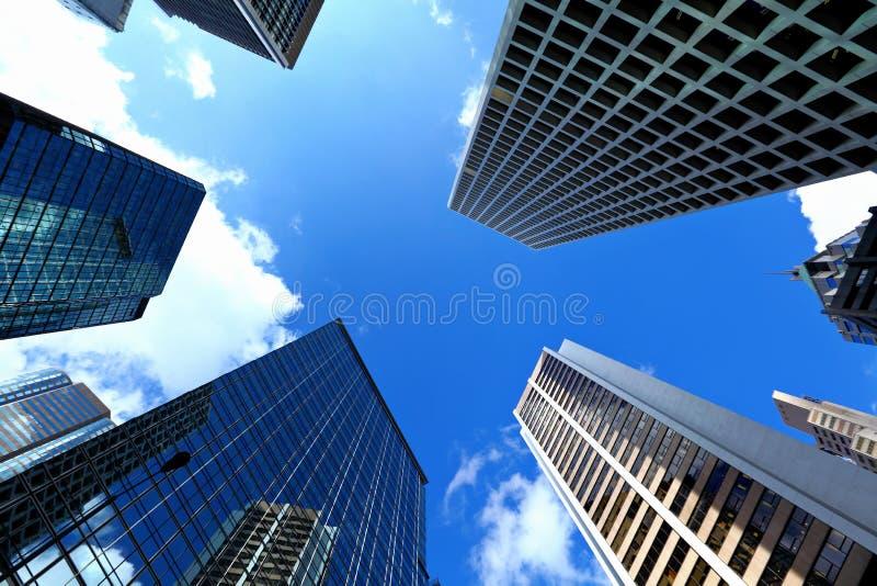 Costruzione moderna di affari a Hong Kong fotografia stock libera da diritti