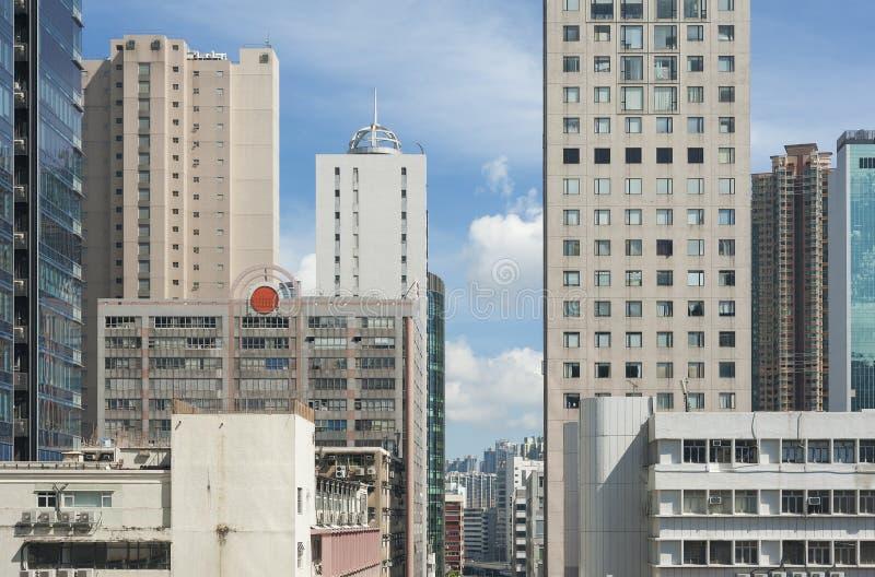 Costruzione moderna a Hong Kong immagini stock libere da diritti