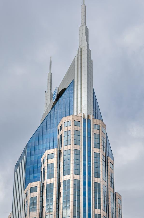 Costruzione moderna a Nashville del centro fotografia stock