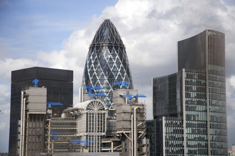 Costruzione nella città di Londra immagini stock