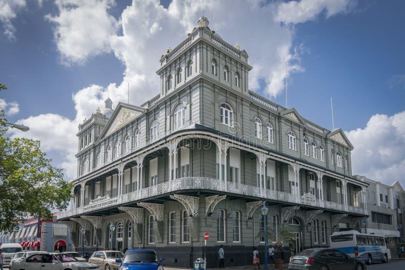 Costruzione reciproca della società di assicurazione sulla vita in Barbados fotografia stock libera da diritti