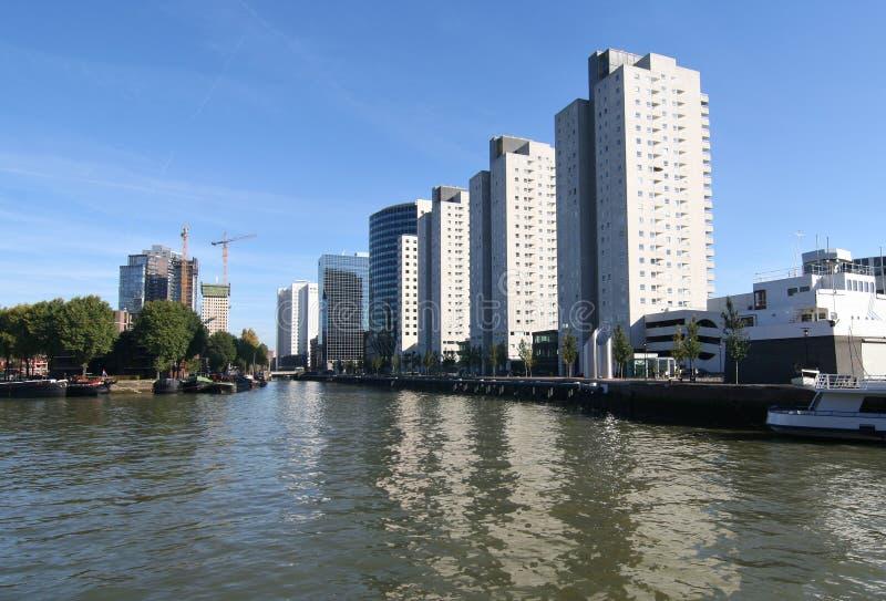 Costruzione Rotterdam fotografie stock