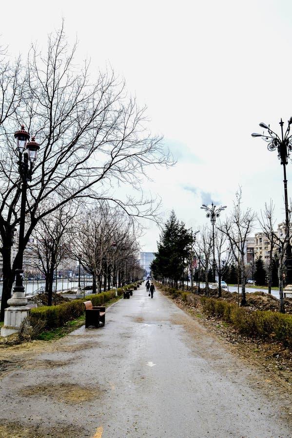 Costruzione rumena fotografia stock libera da diritti