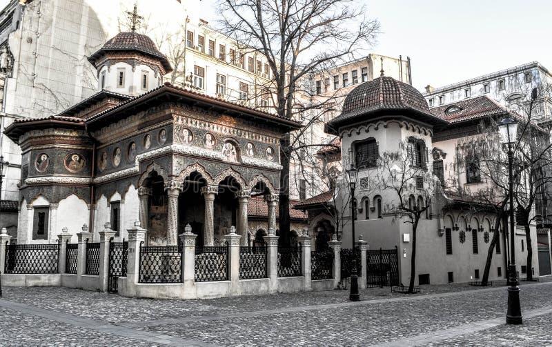 Costruzione rumena fotografia stock