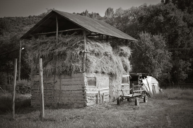 Costruzione rurale immagini stock libere da diritti