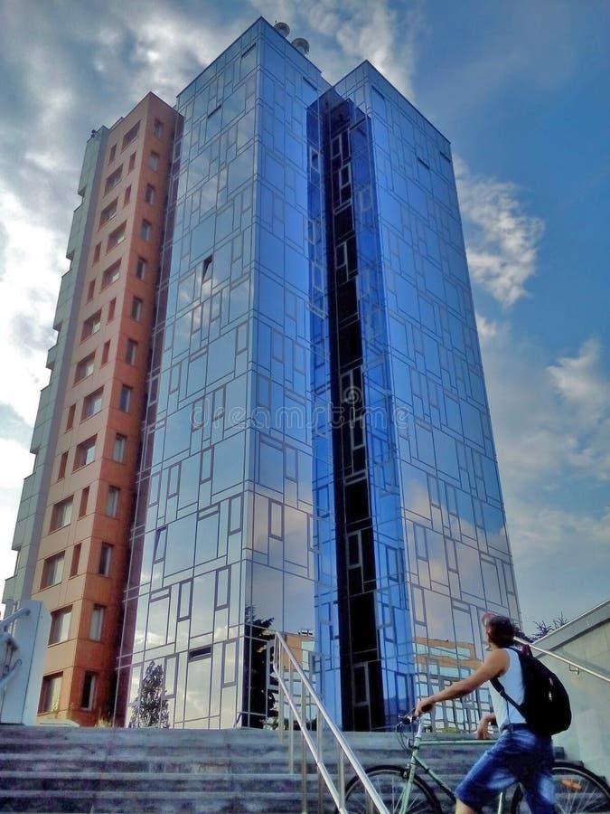 Costruzione a Sofia fotografie stock libere da diritti