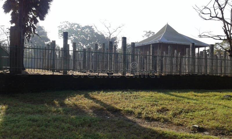 costruzione storica dello Sri Lanka immagine stock