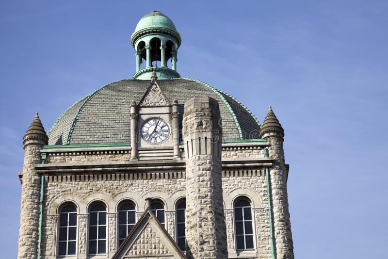Costruzione storica a Lexington fotografia stock