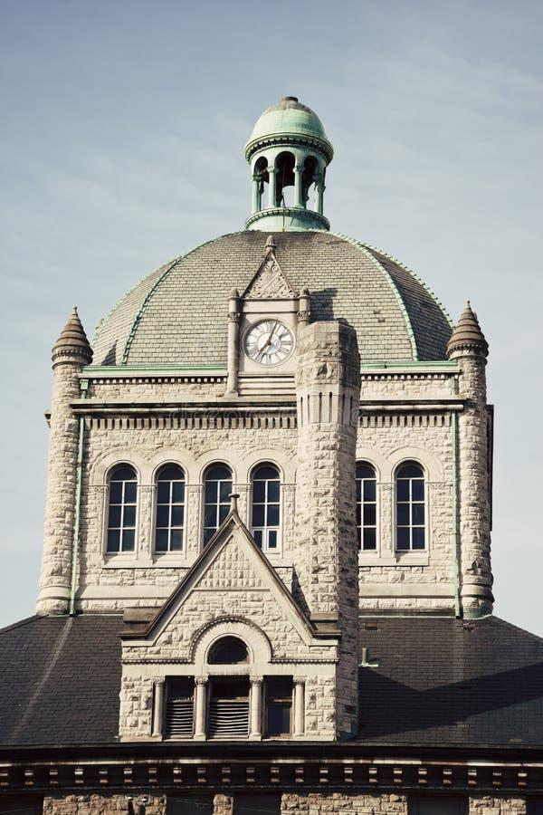 Costruzione storica a Lexington immagine stock libera da diritti