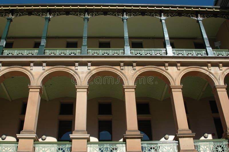 Costruzione storica Sydney Australia fotografia stock
