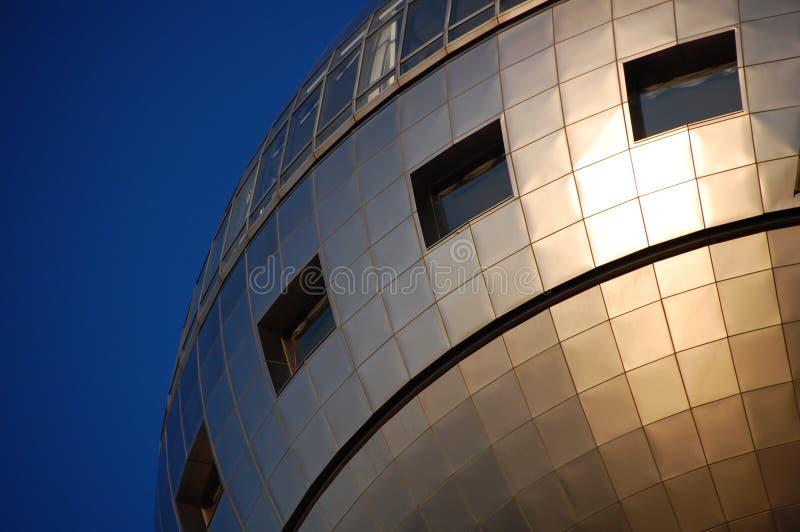 Costruzione su Odaiba, Tokyo della televisione immagine stock