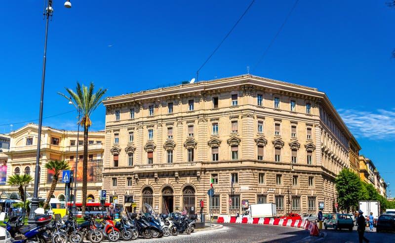 Download Costruzione Sulla Piazza Cavour A Roma Fotografia Stock - Immagine: 70412402