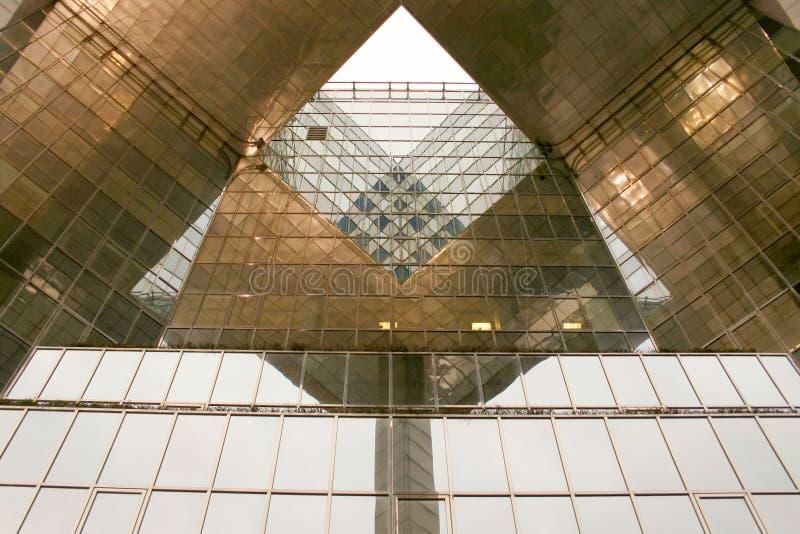 Costruzione triangolare immagine stock