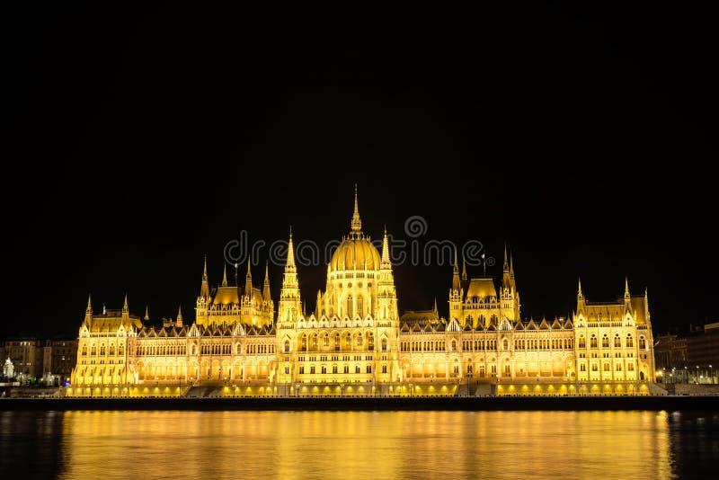 Download Costruzione Ungherese Del Parlamento, Budapest, Ungheria Immagine Stock - Immagine di scuro, casa: 56882493