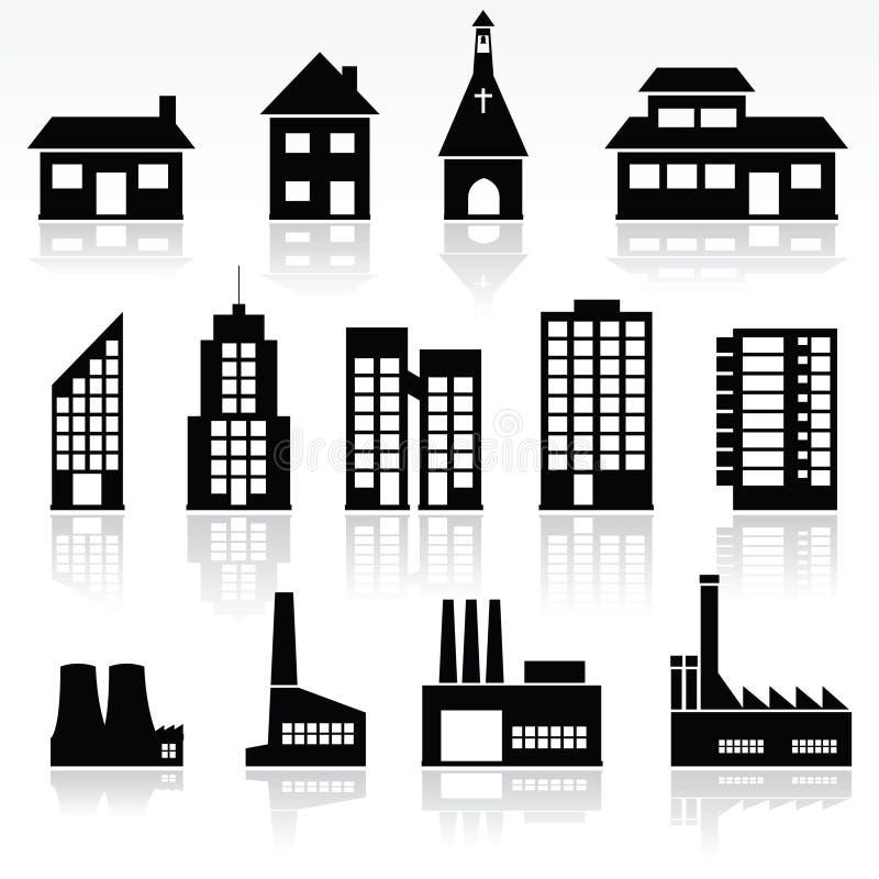 Costruzioni illustrazione di stock