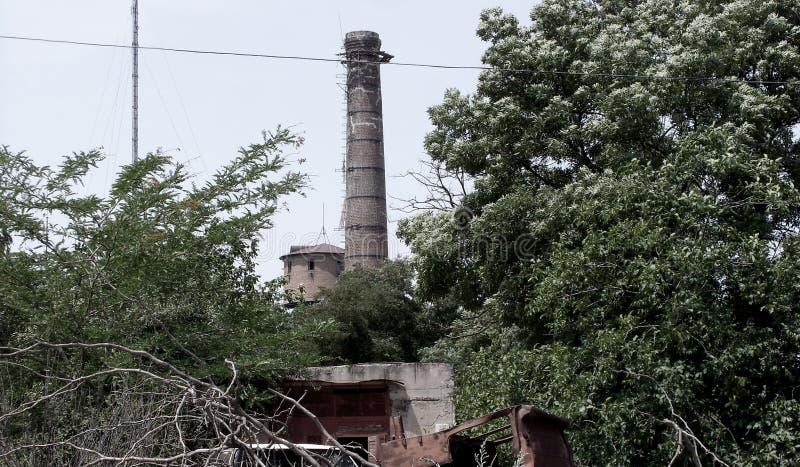 Costruzioni abbandonate Cernobyl rotte sporche, libere fotografie stock
