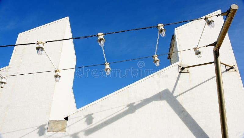 Costruzioni al porto Olimpic del di de Gregal della puttana a Barcellona fotografia stock