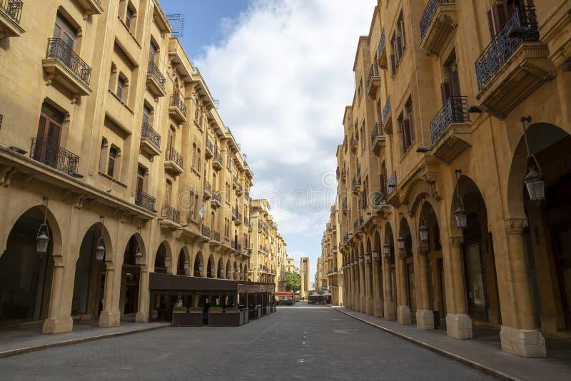 Costruzioni a Beirut, Libano fotografia stock