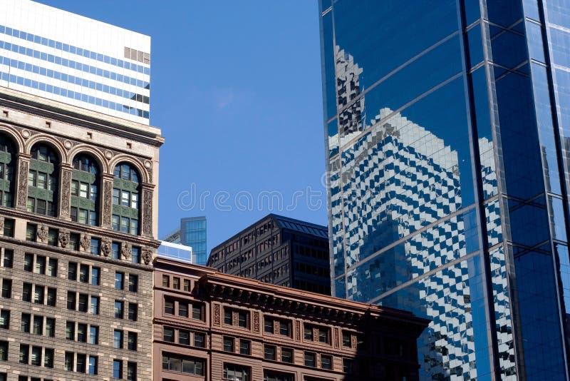Costruzioni in Chicago immagine stock