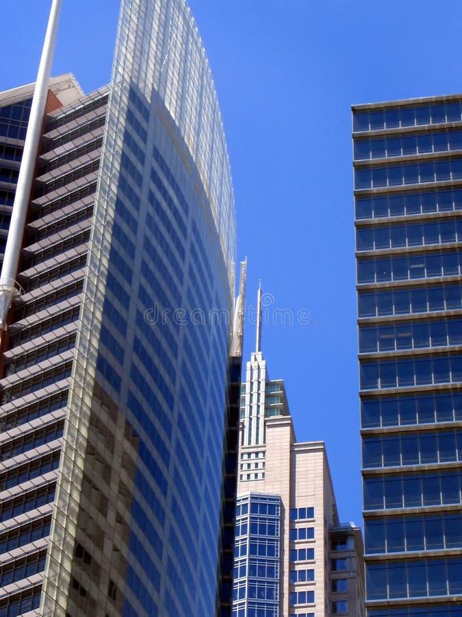 Costruzioni corporative di Sydney fotografie stock