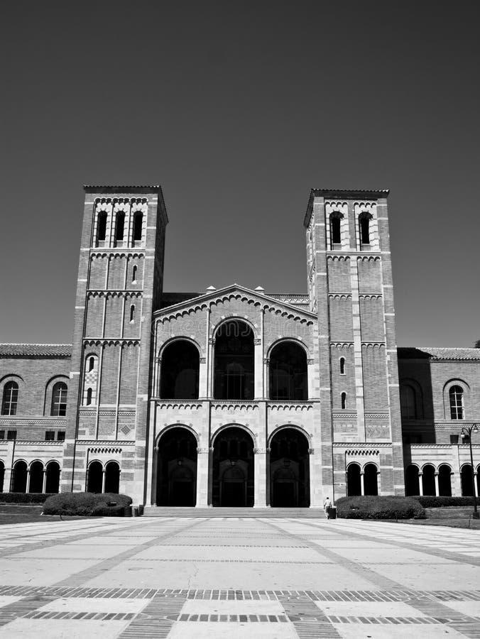 Costruzioni del campus universitario immagini stock libere da diritti