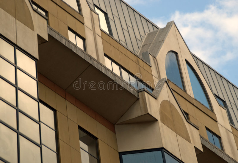 Costruzioni della città immagine stock
