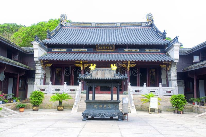 Costruzioni di area scenica del tempio di Puji fotografia stock