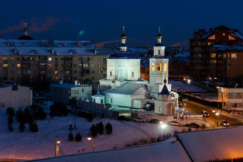 Costruzioni di Kazan kremlin fotografia stock libera da diritti