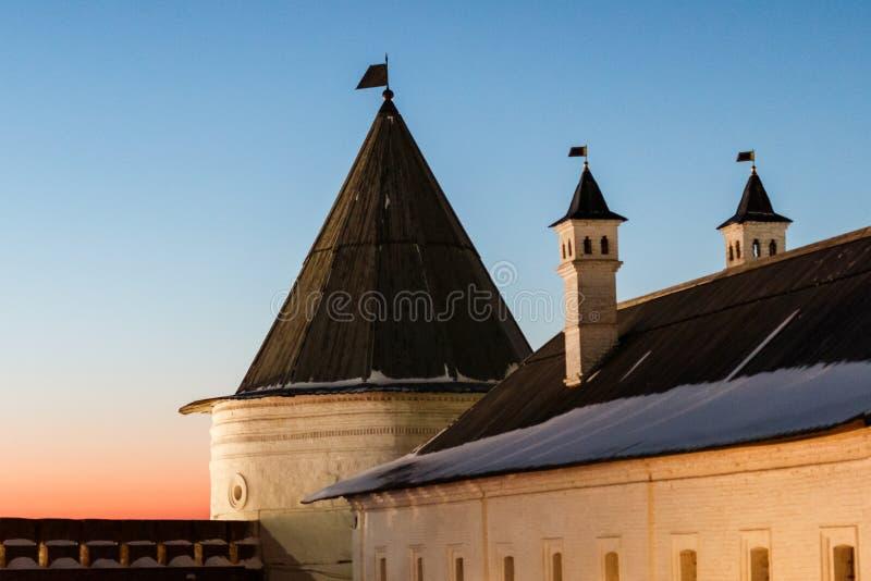 Costruzioni di Kazan kremlin immagine stock libera da diritti