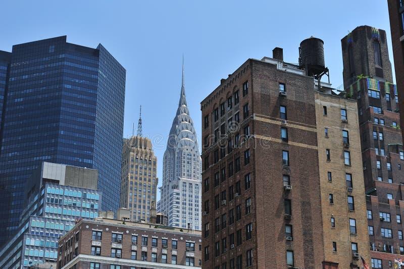 Costruzioni di Midtown a New York City immagine stock libera da diritti