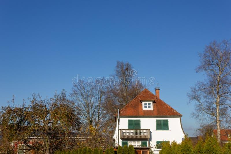 costruzioni di proprietà privata in Germania immagini stock libere da diritti