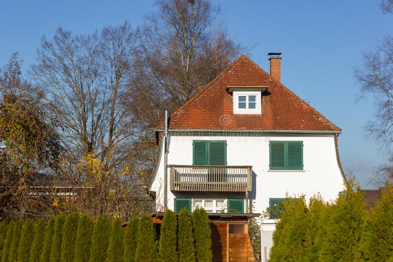 costruzioni di proprietà privata in Germania immagini stock