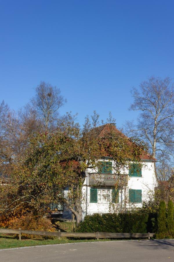 costruzioni di proprietà privata in Germania fotografie stock libere da diritti