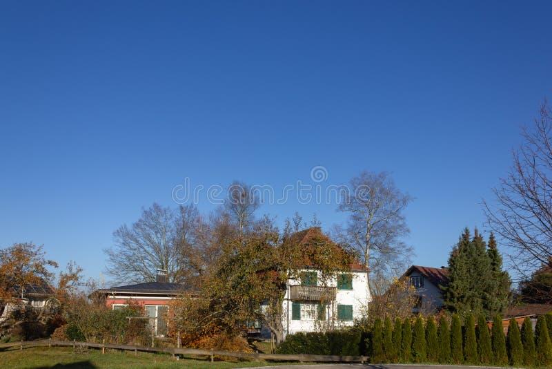 costruzioni di proprietà privata in Germania fotografia stock libera da diritti