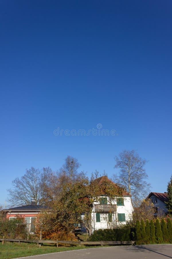 costruzioni di proprietà privata in Germania immagine stock libera da diritti