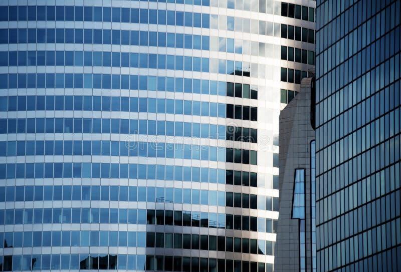 Costruzioni di vetro fotografia stock